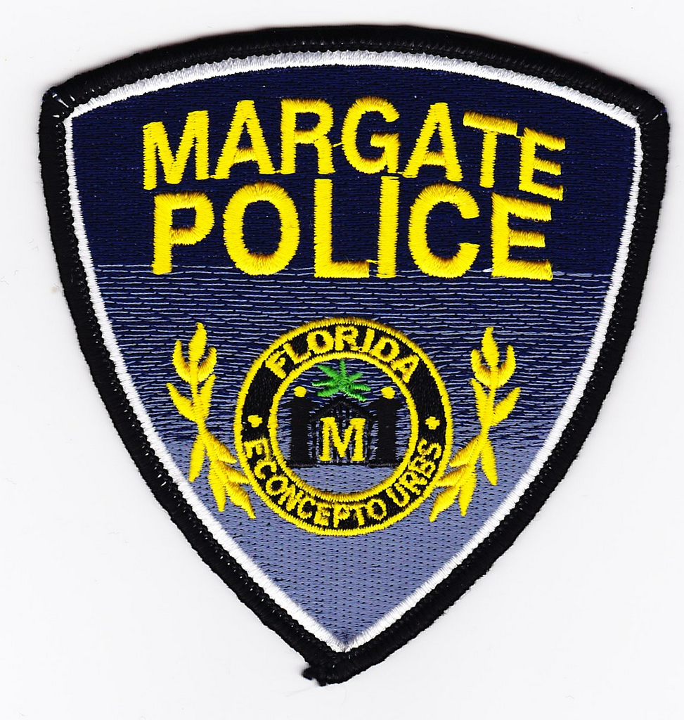 Margate, FL Police Department Patch